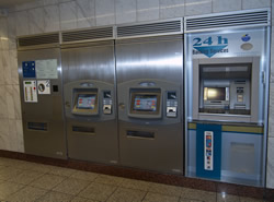 click to see cash machine and ticket   machines larger