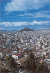 best views of athens from Mt. Lyk