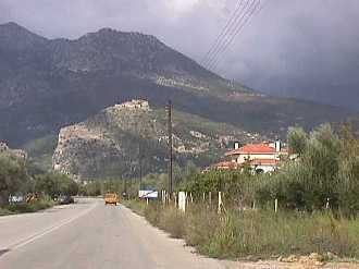 on the road to Mystras