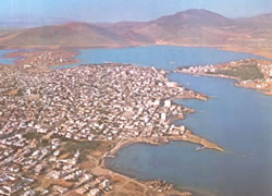 the town of halkida